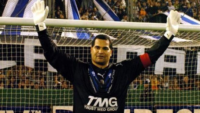El exportero internacional paraguayo José Luis Chilavert.