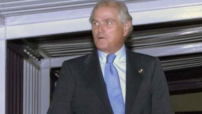El expresidente del Real Madrid, Ramón Calderón.