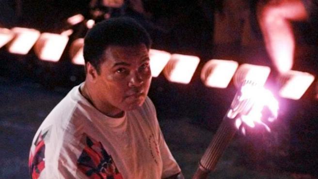 <p>Ali, en 1996, cuando fue relevista olímpico en los Juegos de Atlanta.</p>