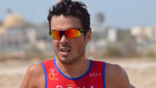 El triatleta gallego, Javier Gómez Noya, cinco veces campeón del mundo de la especialidad.