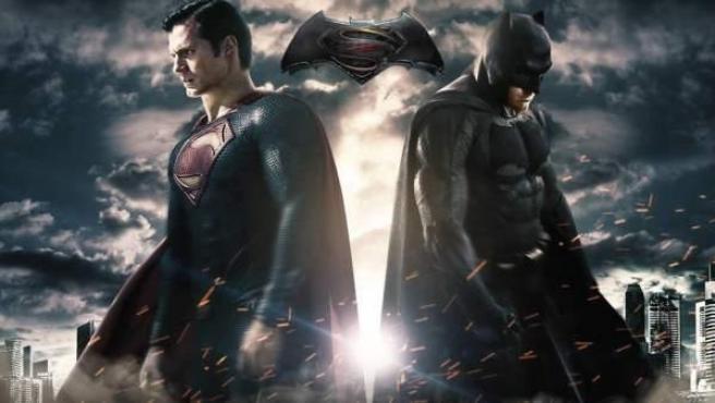 Uno de los posters de 'Batman v Superman'