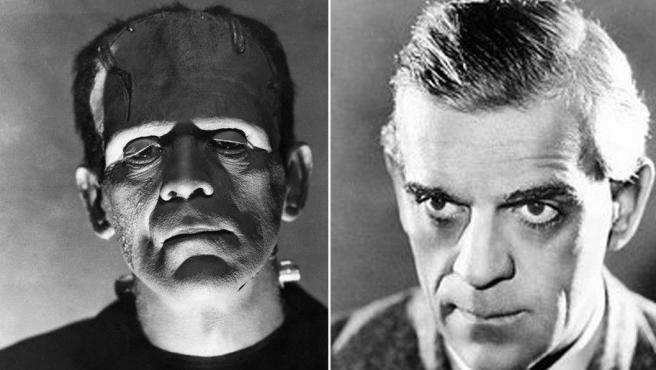 El actor Boris Karloff (1887-1969) en el reparto de Frankenstein (1931) haciendo de monstruo.