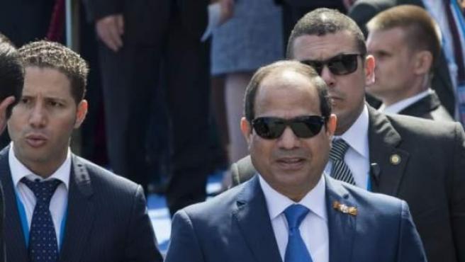 El presidente egipcio Abdelfatah Al Sisi.