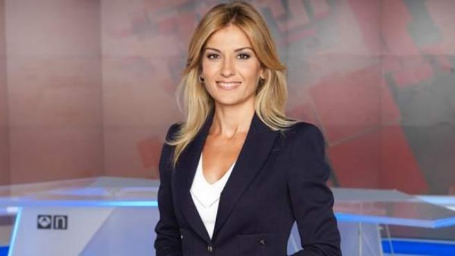 La periodista y presentadora Sandra Golpe.