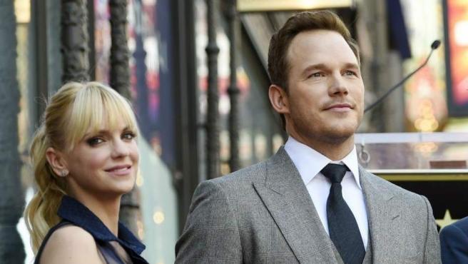 Formaban una de las parejas más sólidas de Hollywood, pero Chris Pratt y Anna Faris también anunciaron su separación en 2017 después de ocho años de matrimonio. Tienen un hijo.