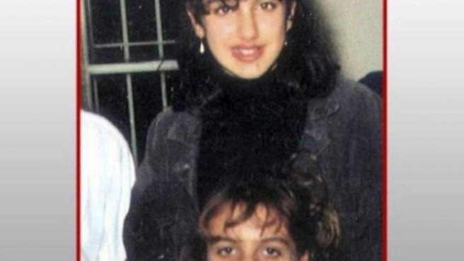 Manuela Torres y Virginia Guerrero, hace 25 años.