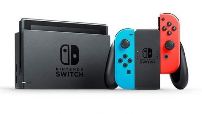 Imagen de la consola Nintendo Switch.