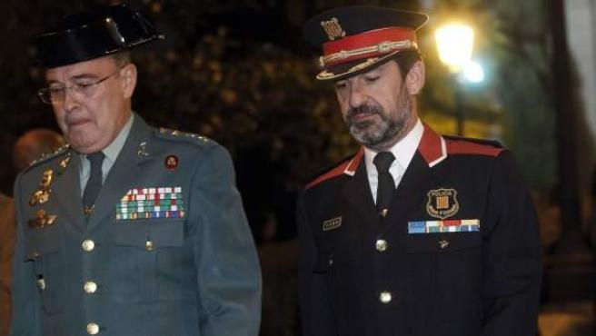 Ferran López y Diego Perez de Los Cobos en noviembre de 2017.
