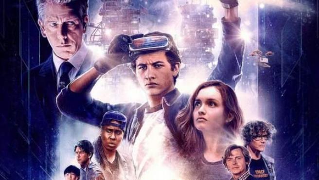 Uno de los carteles promocionales de 'Ready Player One' de Spielberg
