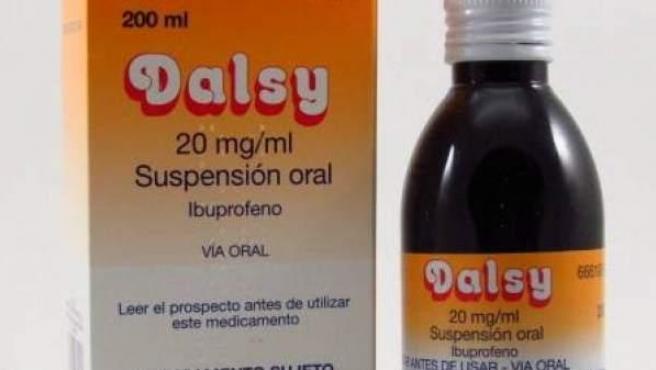 Dalsy, medicamento para niños de tres meses a 12 años.