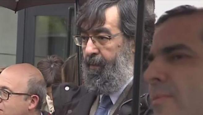 El magistrado Ricardo González, que votó a favor de la absolución de La Manada.