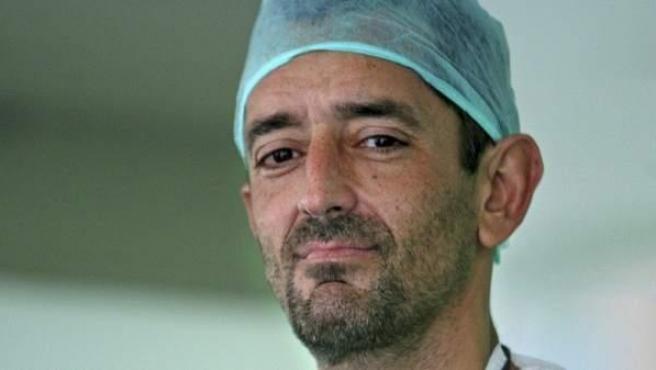 El cirujano valenciano Pedro Cavadas.