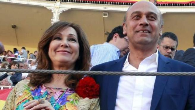 Fotografía de archivo tomada el 29/05/2012 del empresario Juan Muñoz, marido de la periodista Ana Rosa Quintana.