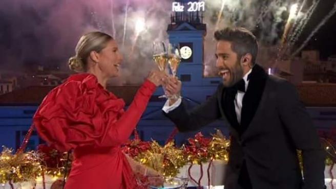 Anne Igartiburu y Roberto Leal despiden el año en La 1.