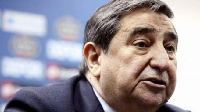 El mítico expresidente del Deportivo de La Coruña, Augusto César Lendoiro, en una foto de archivo.