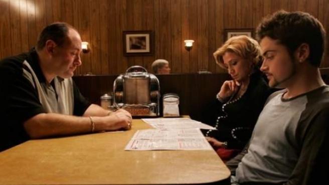 La escena final de 'Los Soprano'.