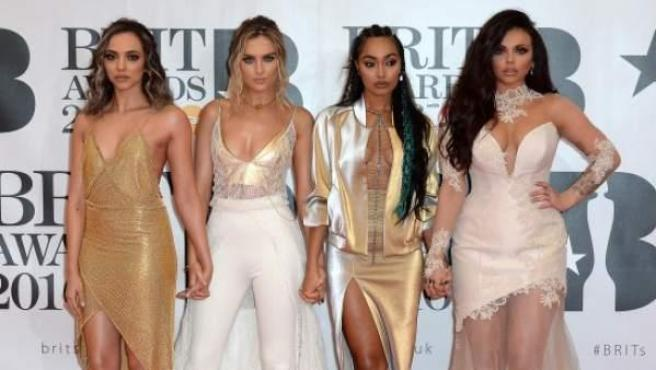 Perrie Louise Edwards, Leigh-Anne Pinnock, Jesy Nelson y Jade Thirlwall forman Little Mix.