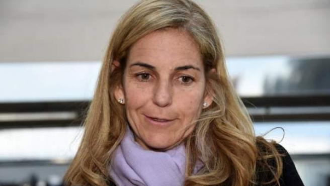 Imagen de archivo de la extenista española Arantxa Sánchez Vicario.