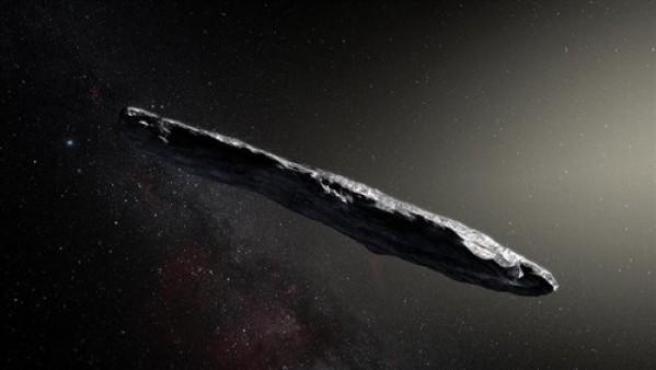 <p>Imagen del excometa 'Oumuamua'.</p>