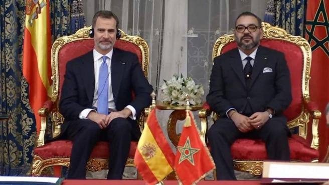Mohamed VI y el Rey Felipe presiden la firma de acuerdos