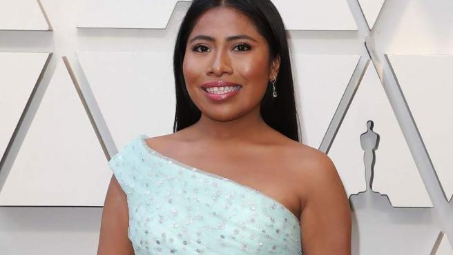 Yalitza Aparicio y su vestido verde en los Oscar 2019.