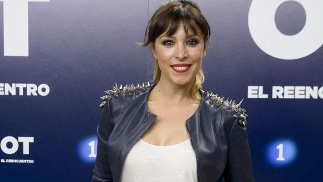 La cantante Gisela, en OT: el reencuentro.