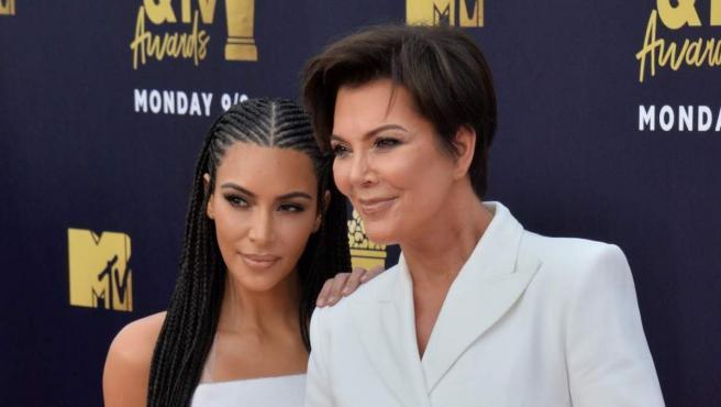 Kim Kardashian y Kris Jenner.