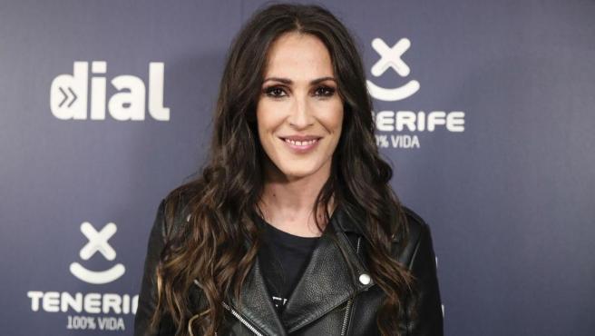 La cantante Malú, en los premios Cadena Dial.