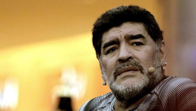 El exfutbolista argentino Diego Armando Maradona.