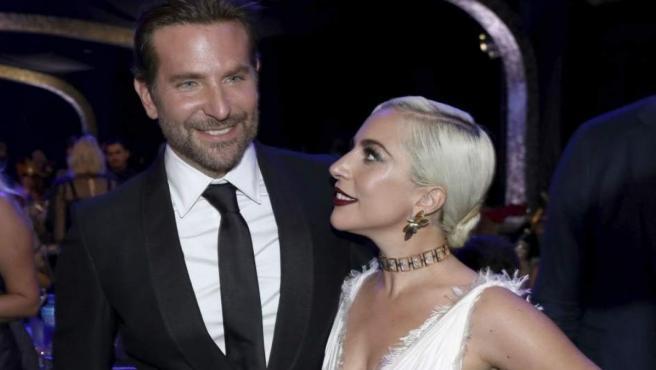 Lady Gaga y Bradley Cooper en una imagen de archivo.