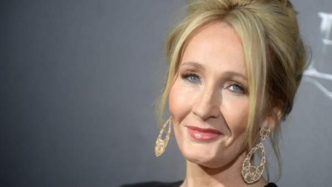 La escritora británica J. K. Rowling, en el estreno de 'Animales Fantásticos y Dónde Encontrarlos' en Nueva York.