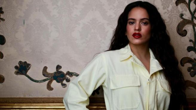 Rosalía, en la presentación de 'El mal querer', en 2018.