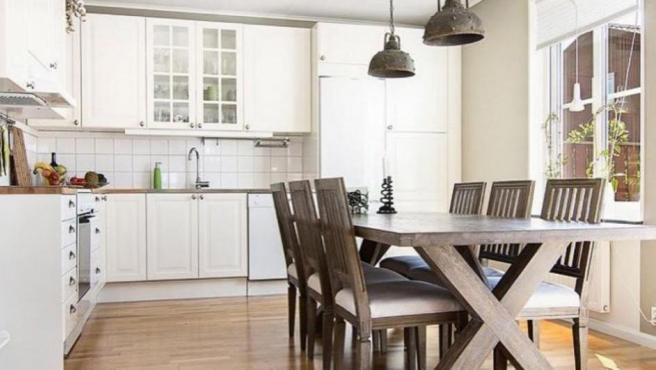 Las viviendas incluyen la cocina completa que, por supuesto, cuenta con todos los muebles de Ikea. Como era de esperar, se monta después de la instalación de la casa.