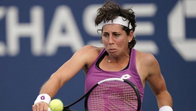 Carla Suárez, en el US Open