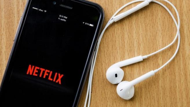 Netflix en el móvil.