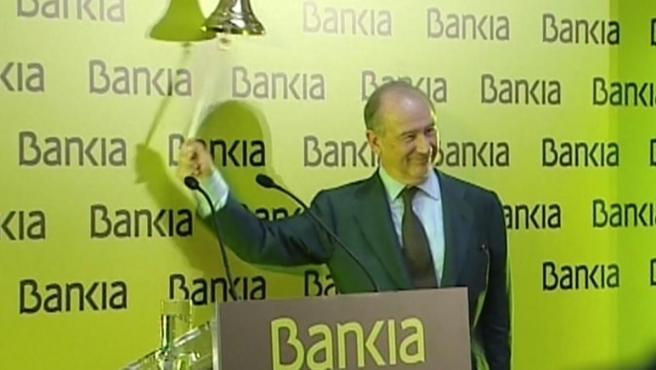 El exministro de Economía de Aznar y expresidente de Bankia, Rodrigo Rato.