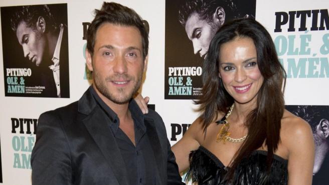 Olga Moreno y Antonio David Flores, en un acto.
