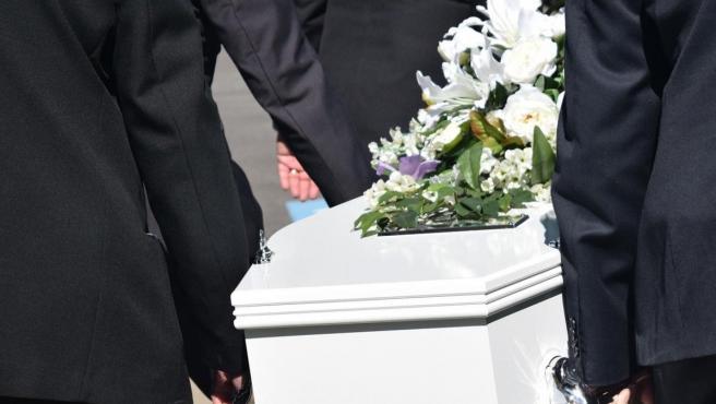 Imagen de archivo de un funeral.