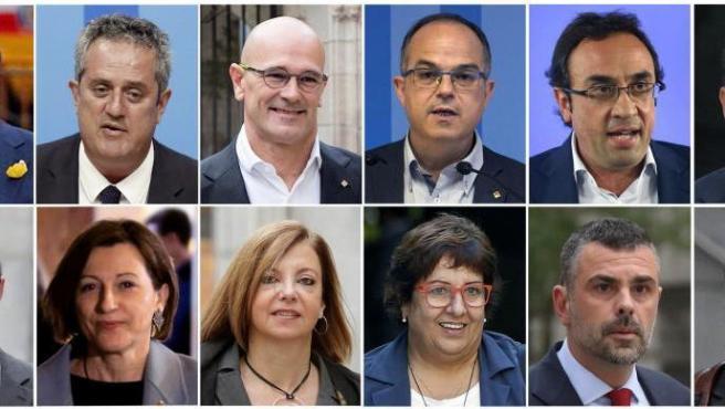 El Supremo ha condenado a 13 años de cárcel a Oriol Junqueras y a penas de hasta 12 años a Carme Forcadell, los Jordis y a cinco exconsellers por sedición y malversación en el procés, en tanto que ha absuelto de malversación a los tres acusados en libertad, que no irán a prisión.