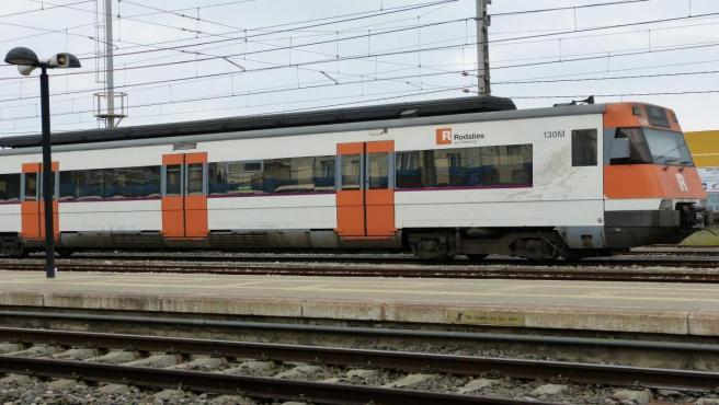 Un tren de Rodalies, en una imagen de archivo