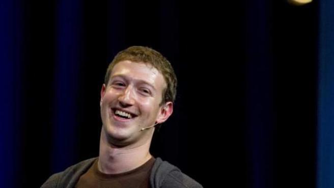 Mark Zuckeberg, creador de Facebook.