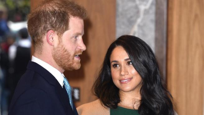 Los duques de Sussex, el príncipe Harry y Meghan Markle.