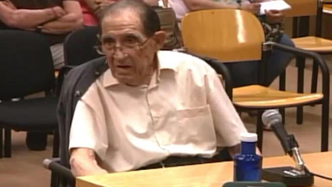 Eduardo Vela, in the trial of the case of 'stolen babies'