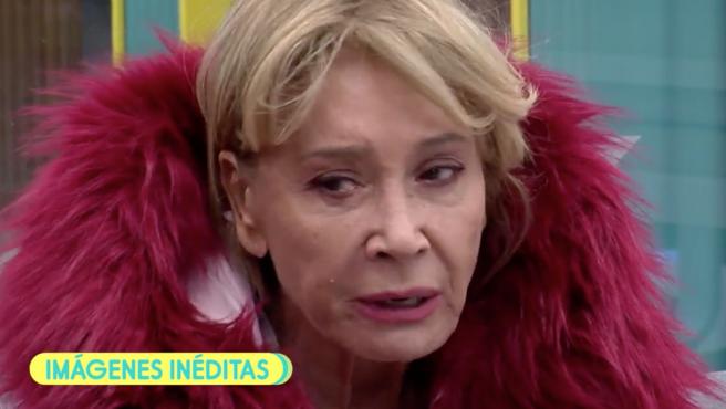 Mila Ximénez se derrumba en 'Gran Hermano VIP'