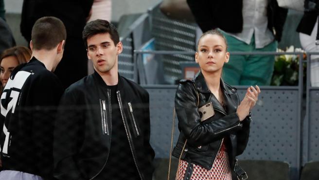 Los actores de 'Élite' Álvaro Rico y Ester Expósito, en una imagen del mes de mayo.
