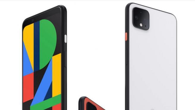 Imagen promocional del teléfono Google Pixel 4.