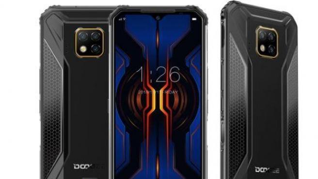 Imagen del Dodgee S95 Pro, elegido mejor móvil resistente de 2019.