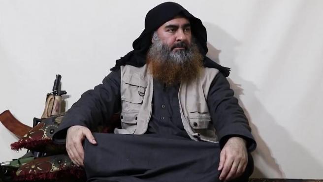 Imagen de archivo de Abu Bakr al-Baghdadi, líder del Estado Islámico.
