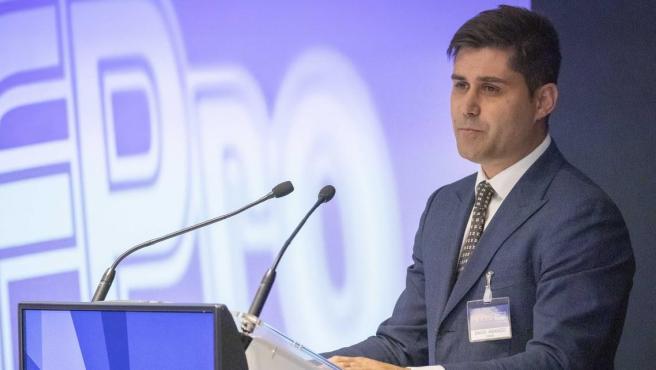 El presidente de AFE, David Aganzo, se dirige a los miembros de FIFPro