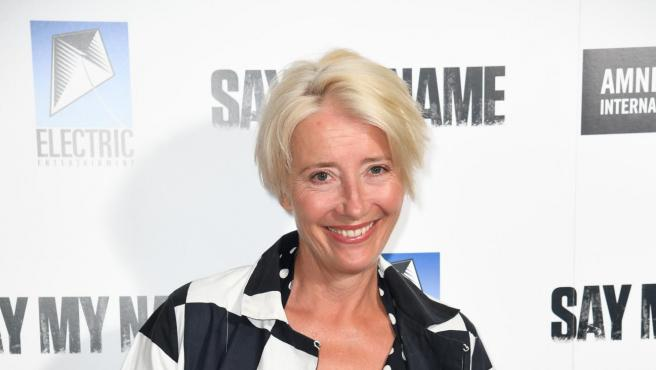 Emma Thompson en la gala 'Say My Name' en Londres.